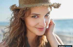 summer makeup for dark skin