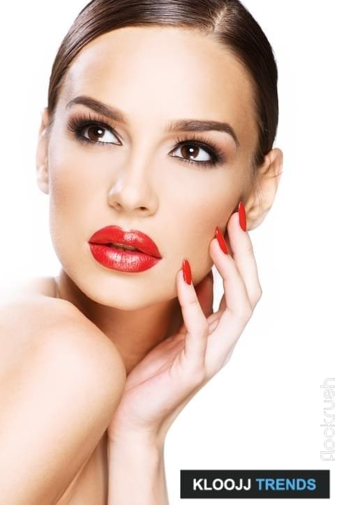 red lipstick makeup ideas