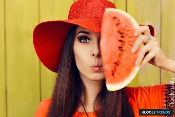 watermelon makeup