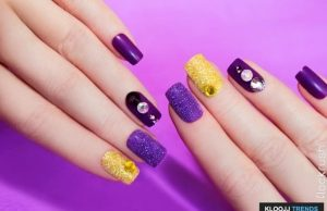 nail polish designs at home