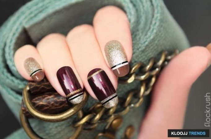 chrome nail polish kit