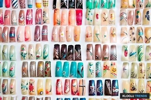nail art french