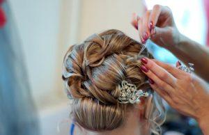 long hair bridesmaid styles